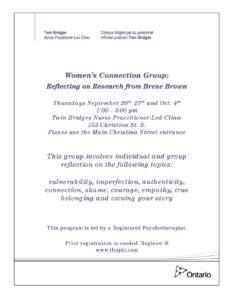 Women's Connection Group @ TBNPLC | Sarnia | Ontario | Canada