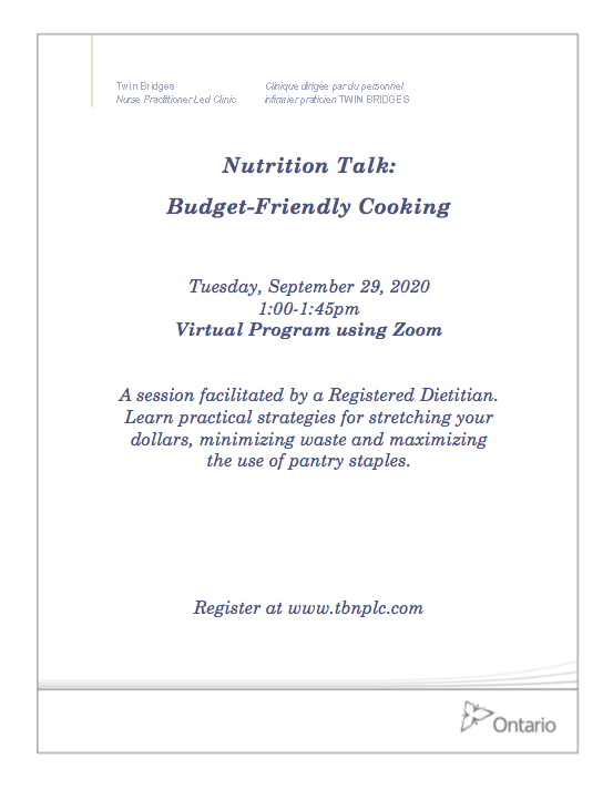 Nutrition Talk: Budget-Friendly Cooking