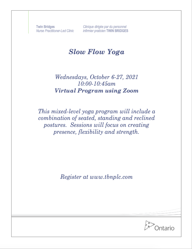 Slow Flow Yoga - VIRTUAL
