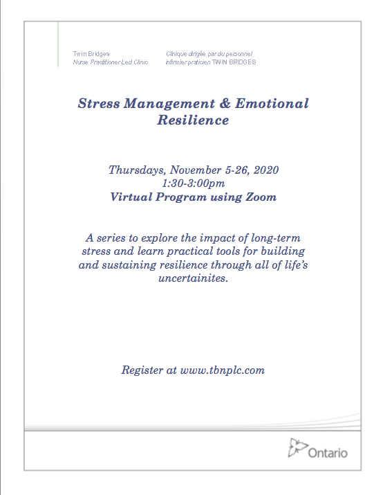Stress Management & Emotional Resilience