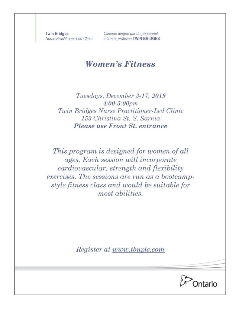Women's Fitness @ Twin Bridges NPLC