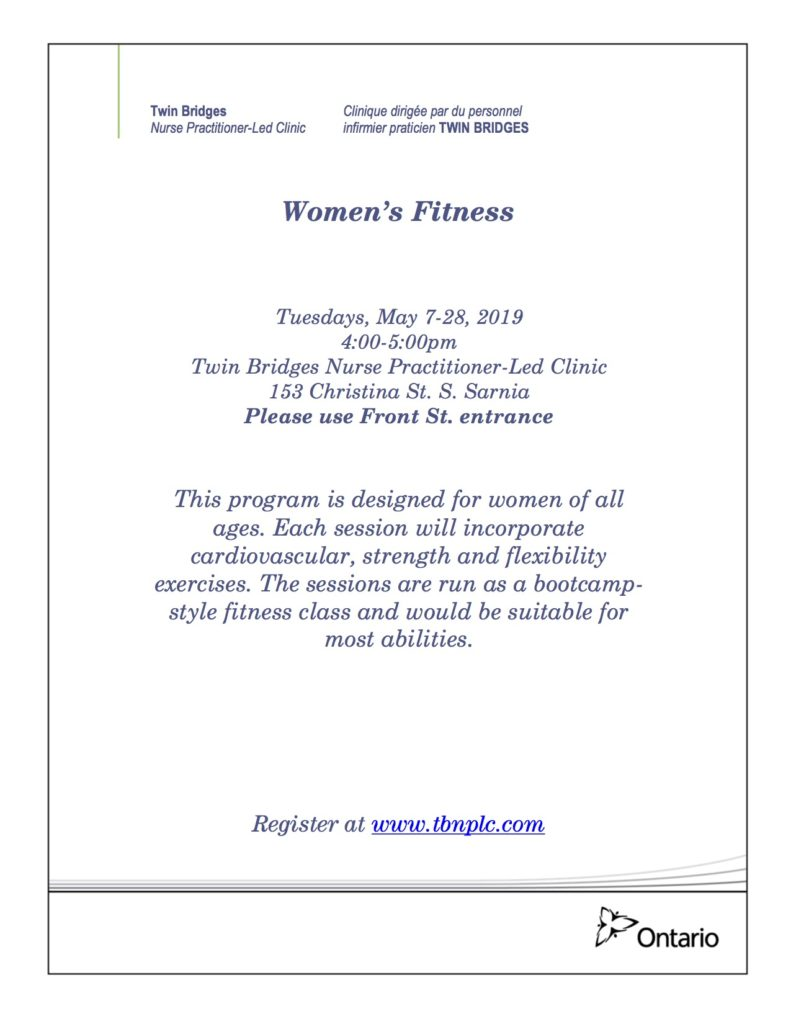 Women's Fitness @ Twin Bridges NPLC